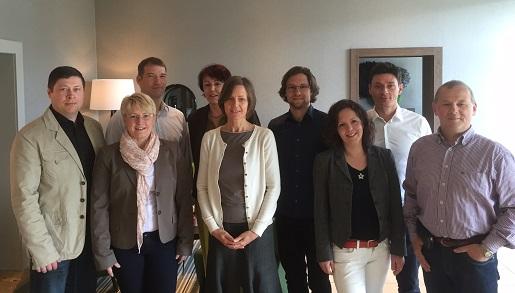 wegvisor leadership group 2015 gruppenfoto - die erste